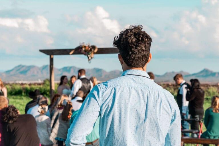 c west wedding in buckeye arizona