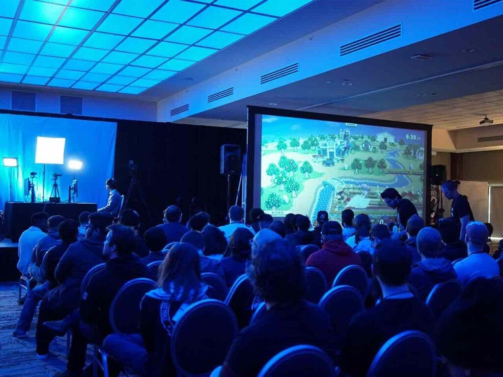 large corporate event service