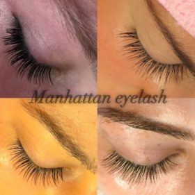 manhattan eyelash extension classic full set