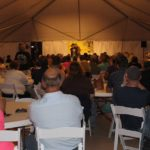 Sold out crowd at the Thousand Islands Winery