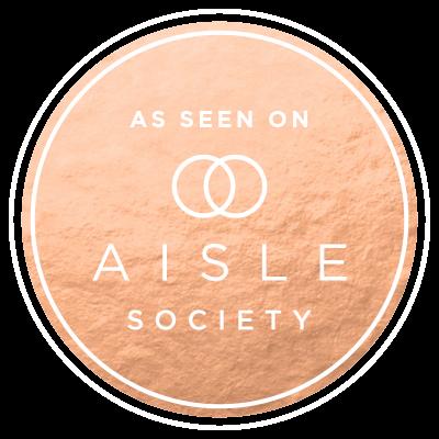 Wedding Invitations on Aisle Society by Emery Ann Design Custom Wedding Invitations