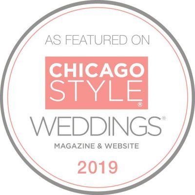 Custom Wedding Invitations featured in Chicago Weddings