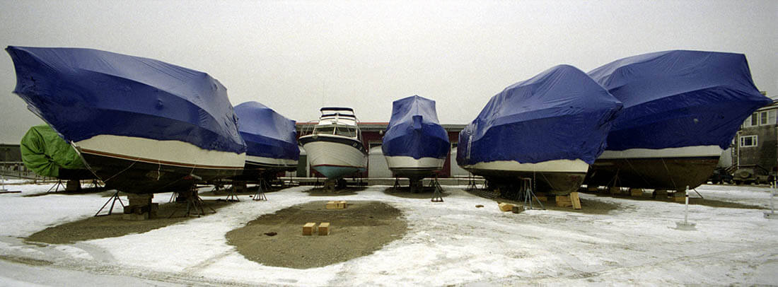 winter storage for boats