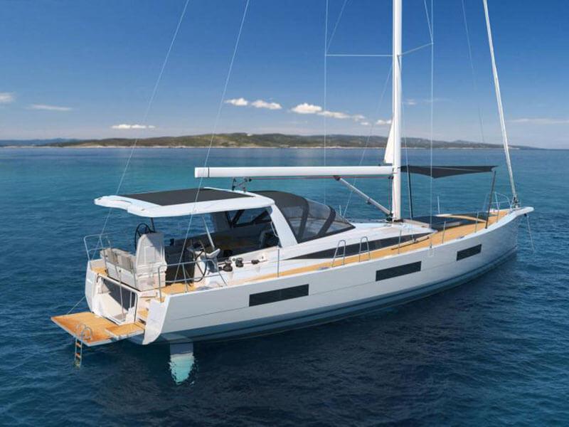 Jeanneau 60 yacht exterior