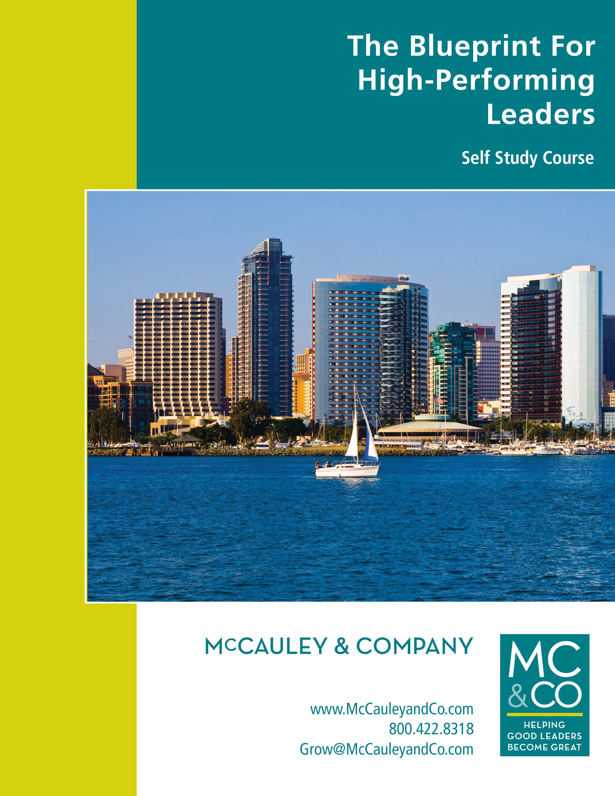 THE BLUEPRINT FOR HIGH-PERFORMING LEADERS™ SELF STUDY COURSE