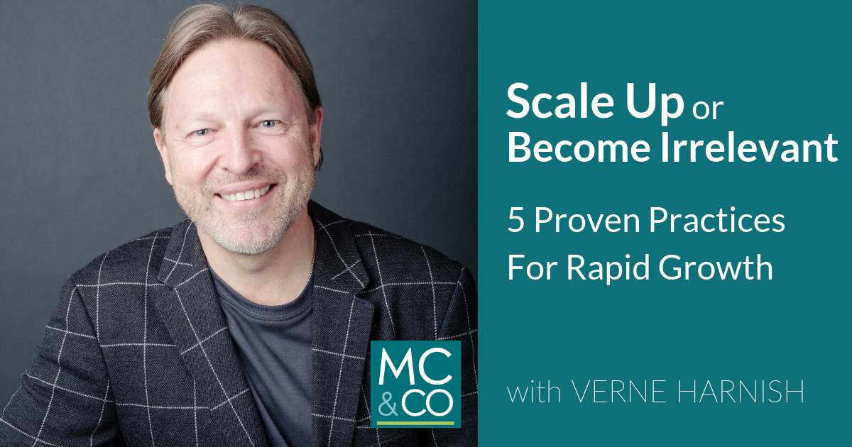 Scale Up or Become Irrelevant