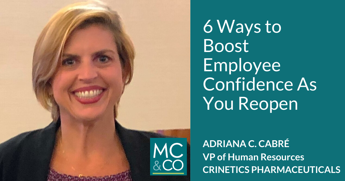 6 Ways to Boost Employee Confidence As You Reopen