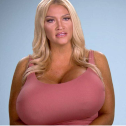 """Extreme Surgery"" Enthusiast Wants Her Lopsided Mega-Breasts Evened Out on Botched"