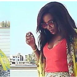 Genevieve Nnaji flaunts cleavage in new photo