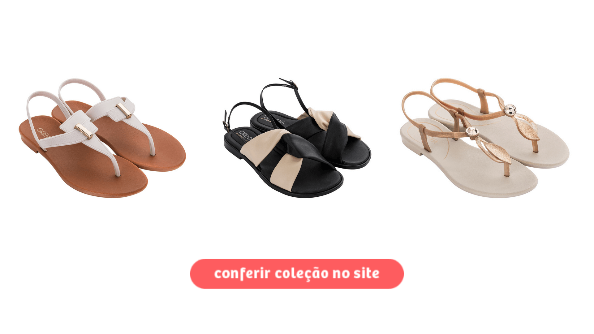 Clique para acessar as sandálias Grendha disponíveis no atacado.
