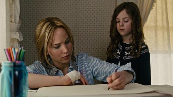 Jennifer Lawrence em seu papel em um dos filmes para vendedores mais lindos.