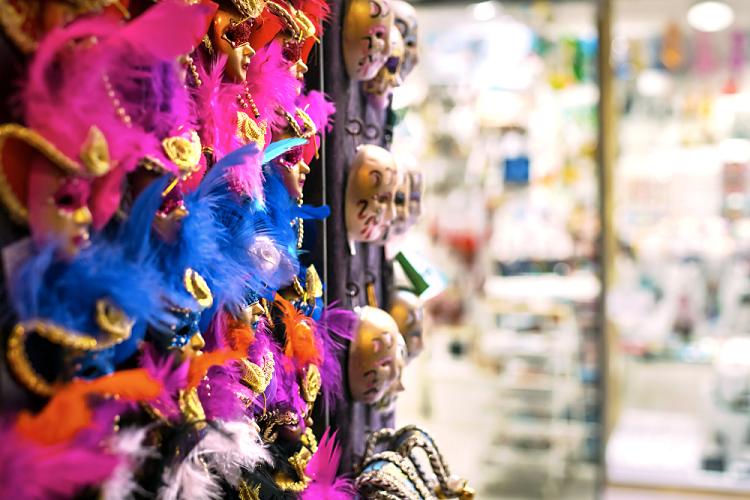 decoração de loja para carnaval