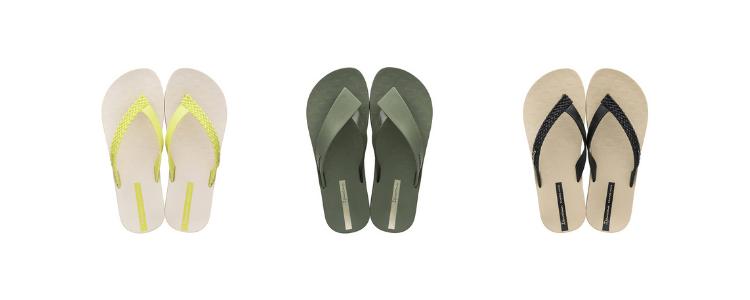 Variedade de calçados femininos da Ipanema Sempre Nova disponíveis na loja virtual da Daniel Atacado.