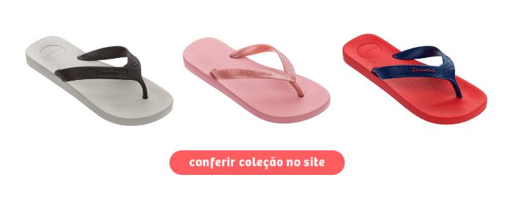 Clique para acessar a seção de chinelos Ipanema na loja da Daniel Atacado.