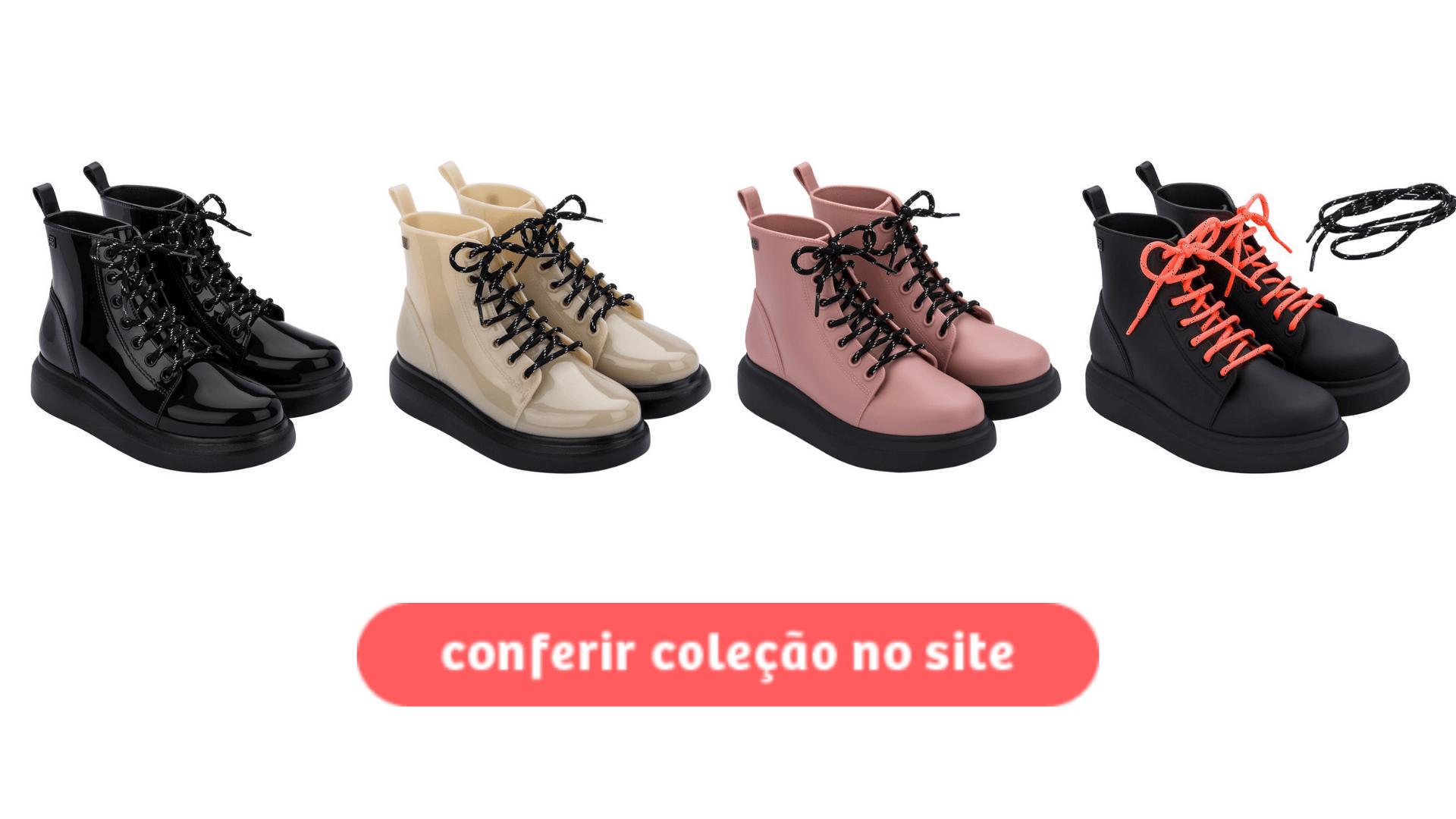Clique aqui para comprar a Bota Trip para a coleção outono inverno da loja de calçados.