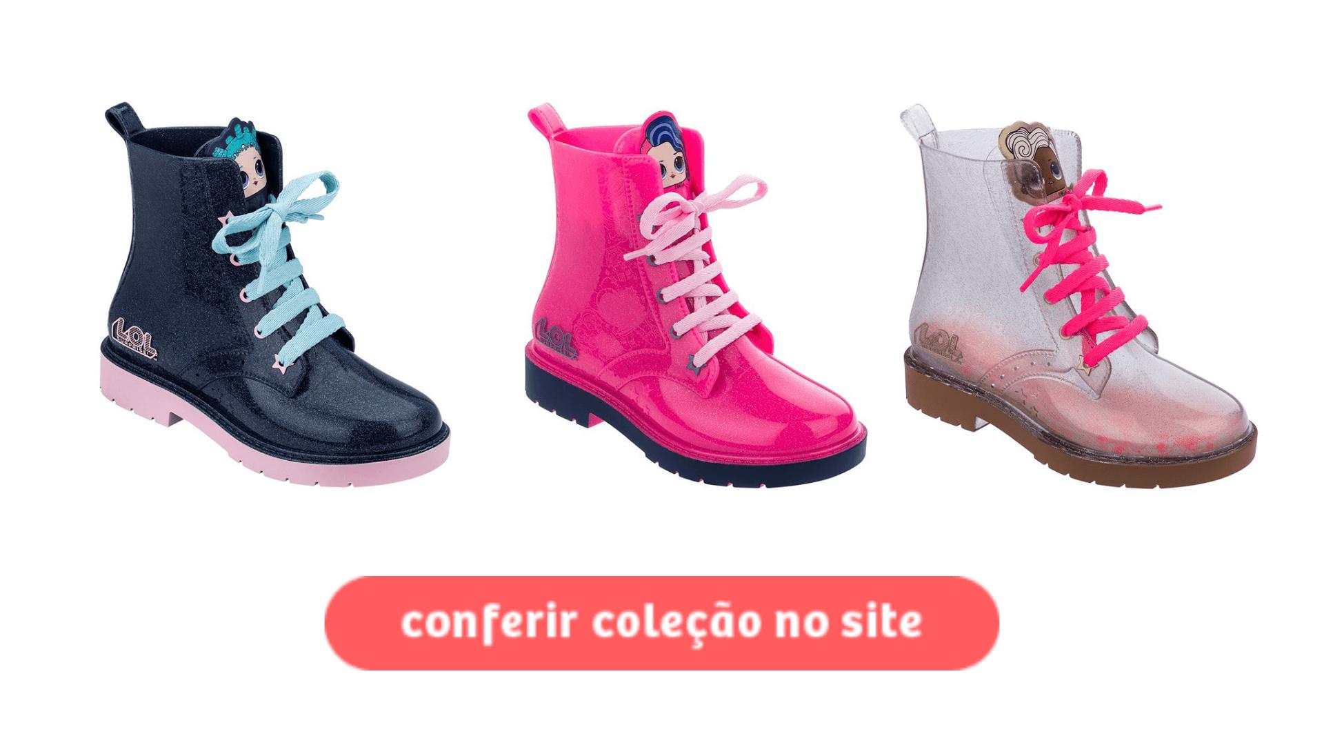 Clique e compre a bota LOL Pop Star na Daniel Atacado. Prepare a coleção de outono inverno!