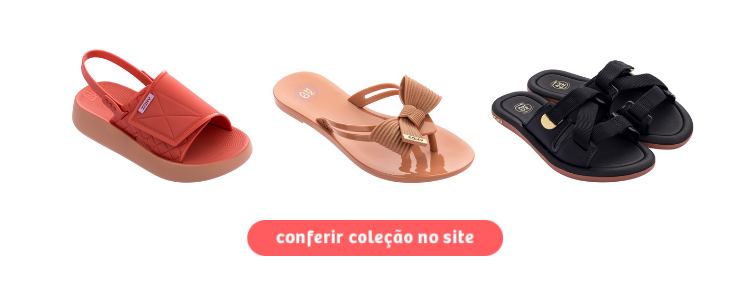 Clique para comprar calçados de plástico Zaxy no atacado.
