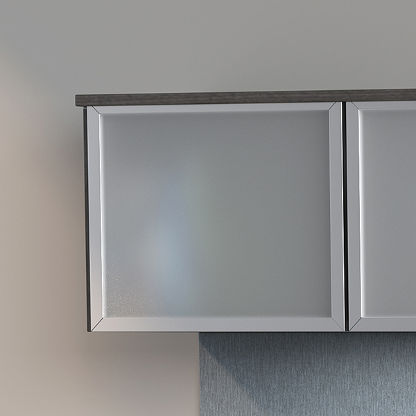 Frosted Glass Accents