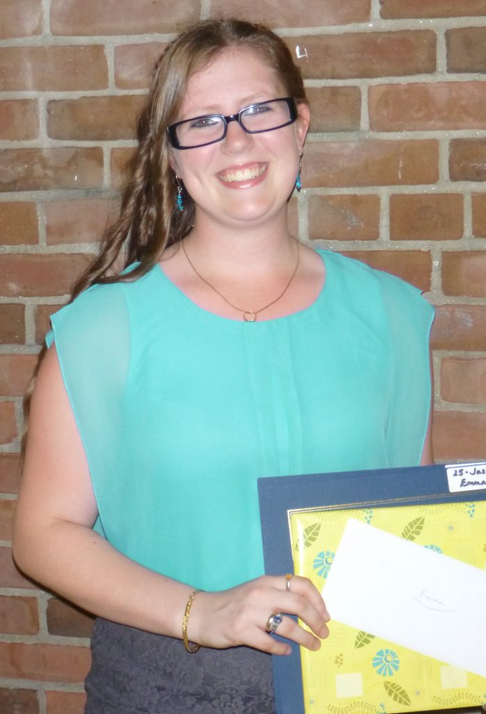 Emma Fontaine is the 2014 recipient of the Jason C. Goldner Scholarship. She will be attending Husson University in Bangor Maine and majoring in Pharmacy.