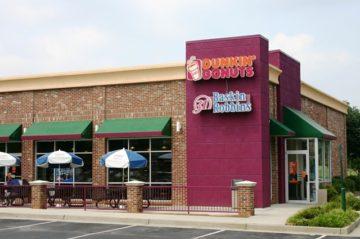 Dunkin Donuts Exterior