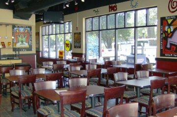 Moe's Restaurant Interior