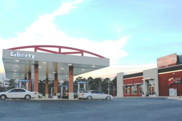 Zelmo's Gas Station and Convenience Store Exterior