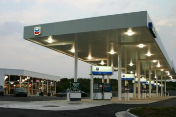 Chevron Gas Station Convenience Store