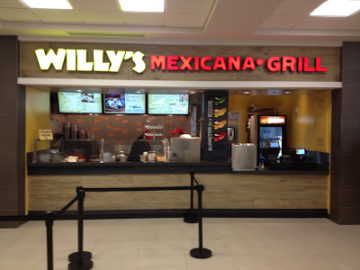 Willy's Mexicana Grill Hartsfield Jackson Airport Atlanta Georgia