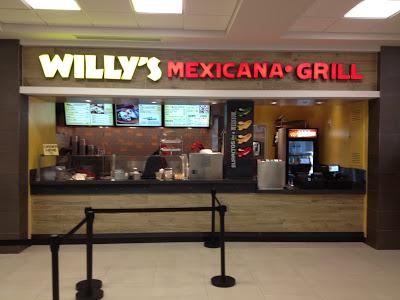 Willy's Mexicana Grill Hartsfield Jackson Airport Atlanta Georgia