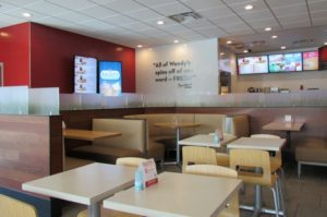 Interior Image of Wendy's Remodel