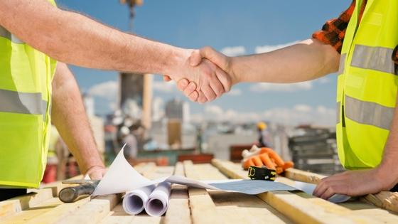 Commercial Architect Shaking Hands MRP Design Group Atlanta