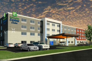Holiday Inn Express Rendering
