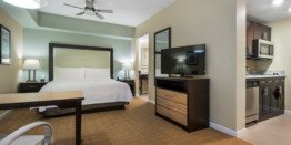 Homewood Suites Augusta Suite Room