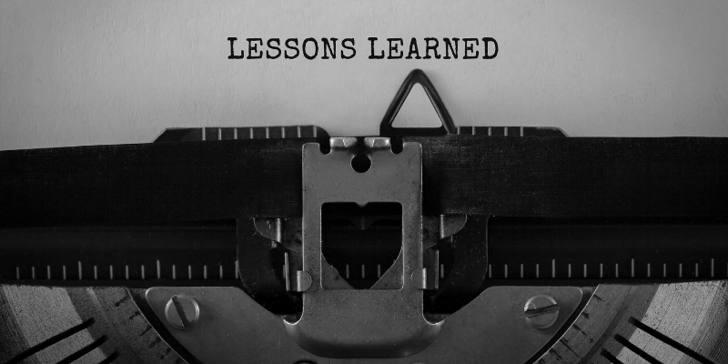 Lessons Learned Over 30 Years
