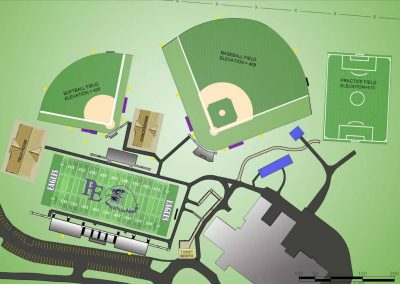 High School Athletic Master Planning - Prince Edward County Athletic Complex