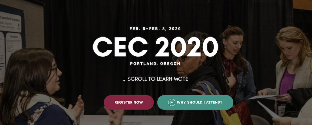 CEC 2020 Conference