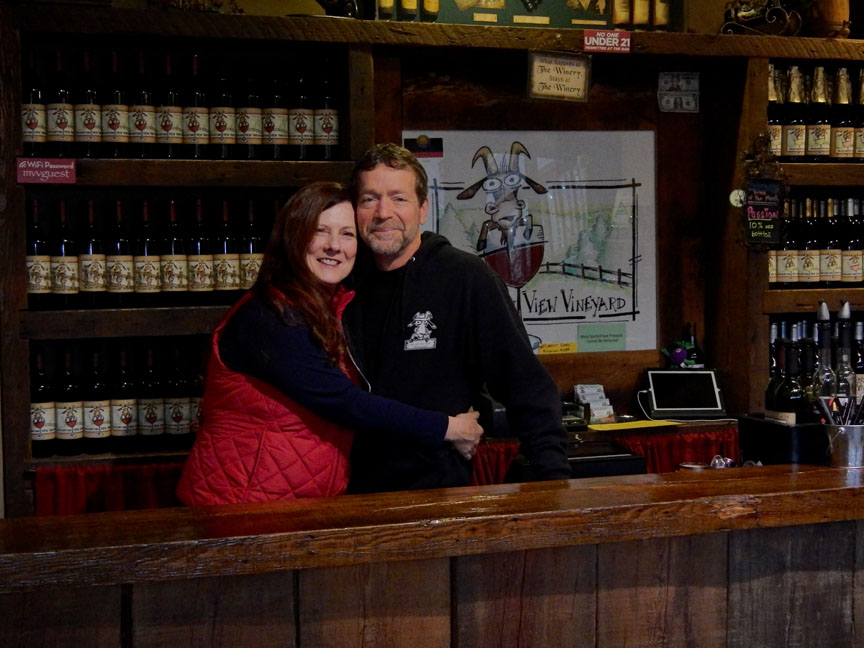 Pocono_Wine_trail_winery_owners_in_tasting_room