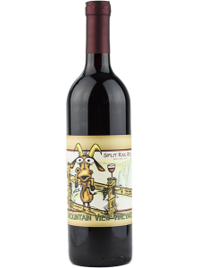 Red wine made at a Pocono winer
