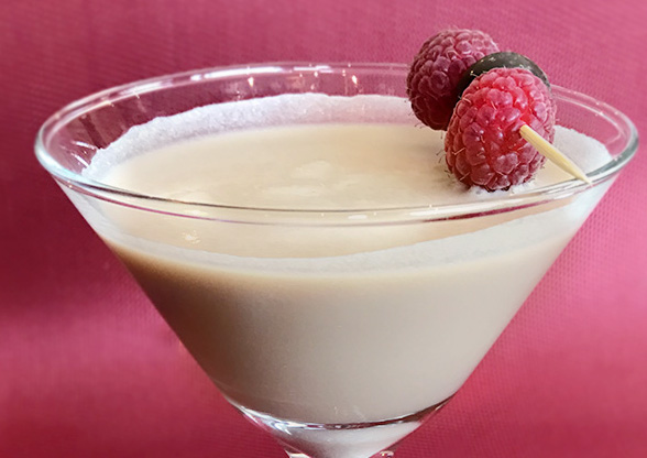 Chocolate Raspberry Martini Recipe