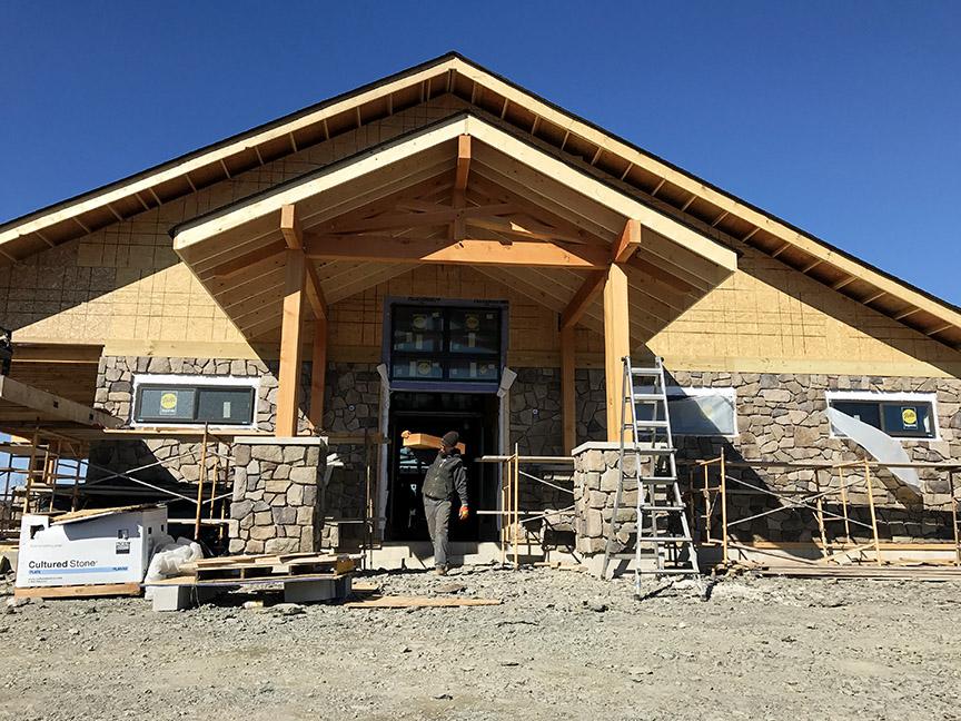 Pocono Winery Construction