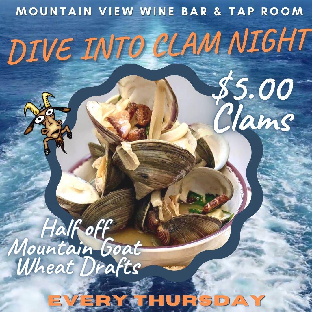 clam night