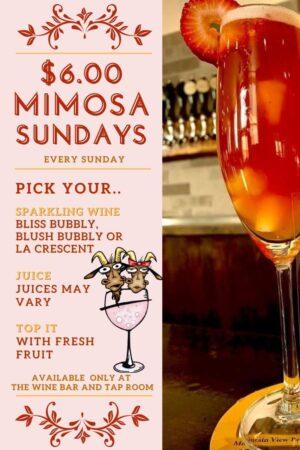 mimosa sundays