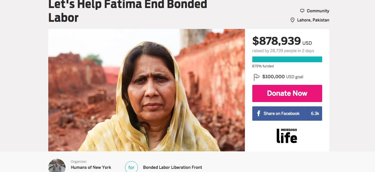 Fatima's Bonded Labor Liberation Front