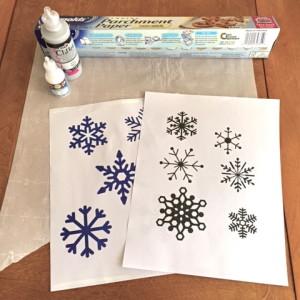 Snow flake supplies