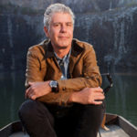 Anthony Bourdain legendary man of travel, food and cannabis.