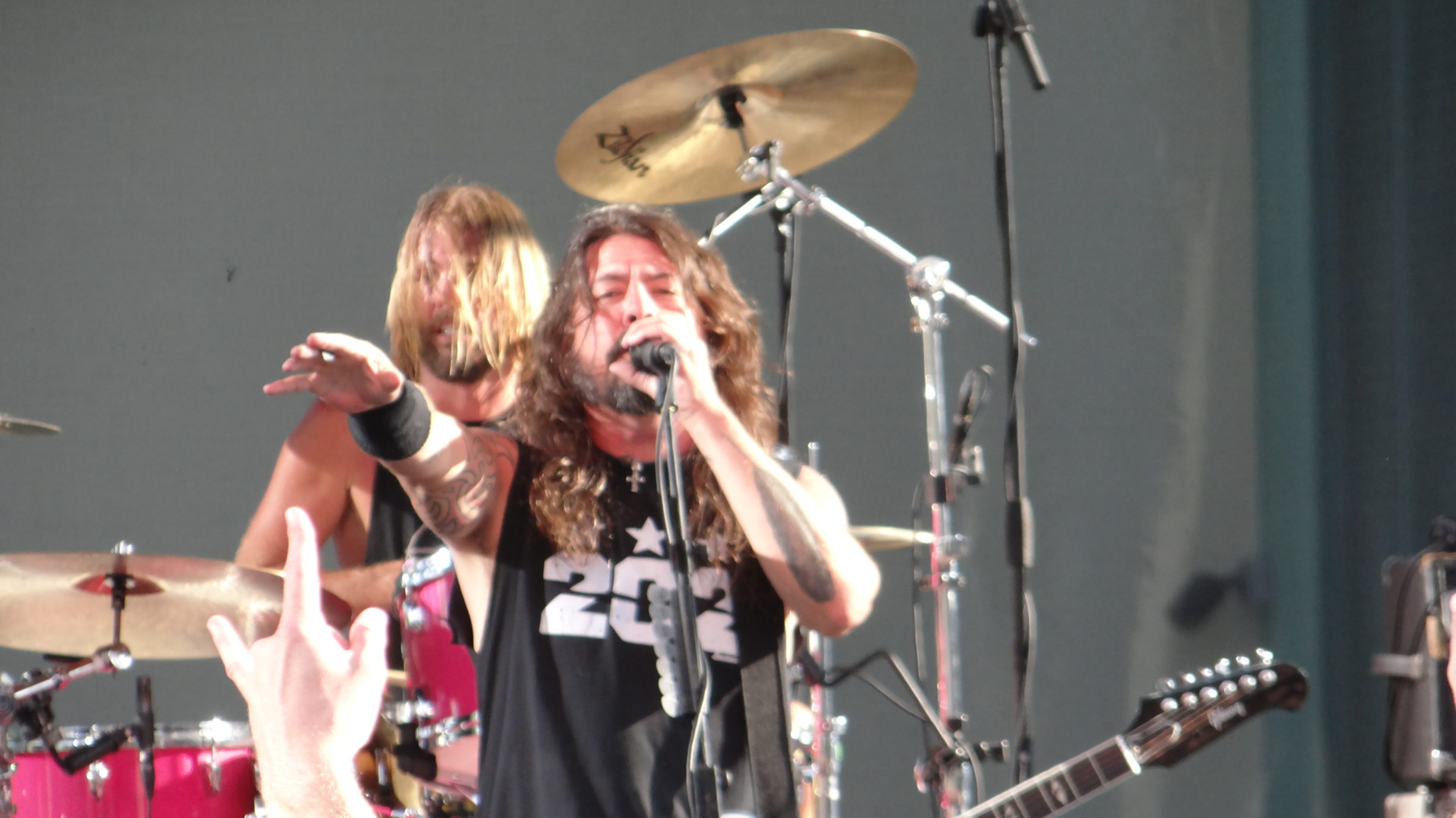 Foo Fighters Dave Grohl CalJam