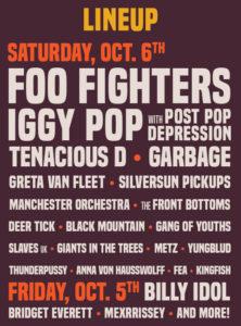 Foo Fighters Billy Idol