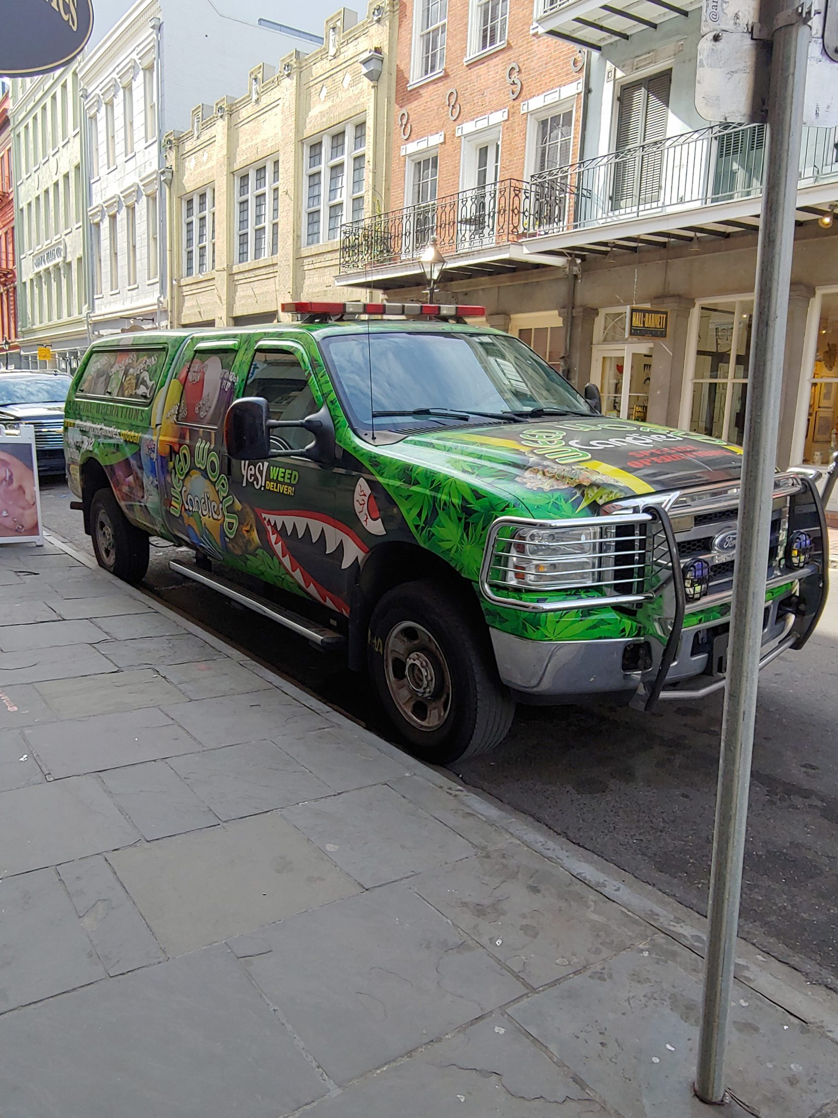 weedworld truck french quarter