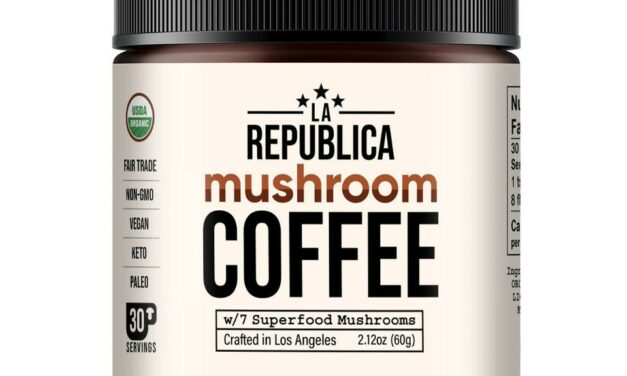 The Cannapolitan Review- La Republica Mushroom Coffee