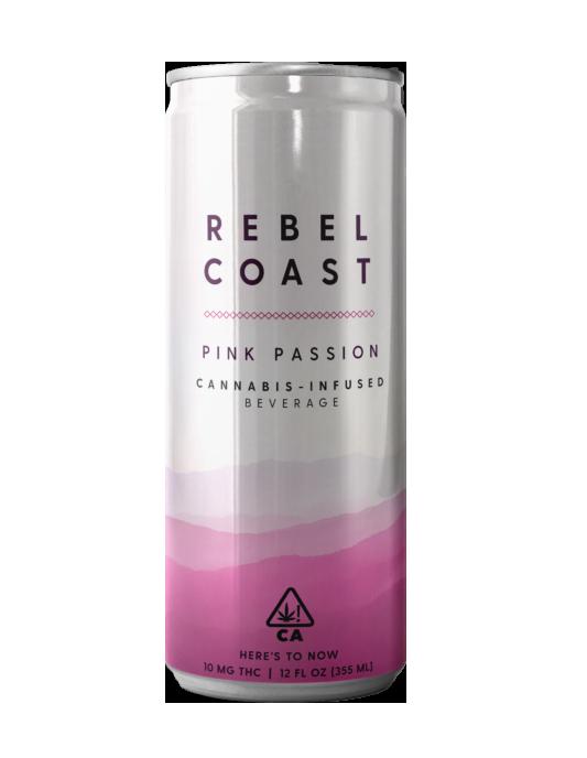 Rebel Coast Cannabis infused drinks